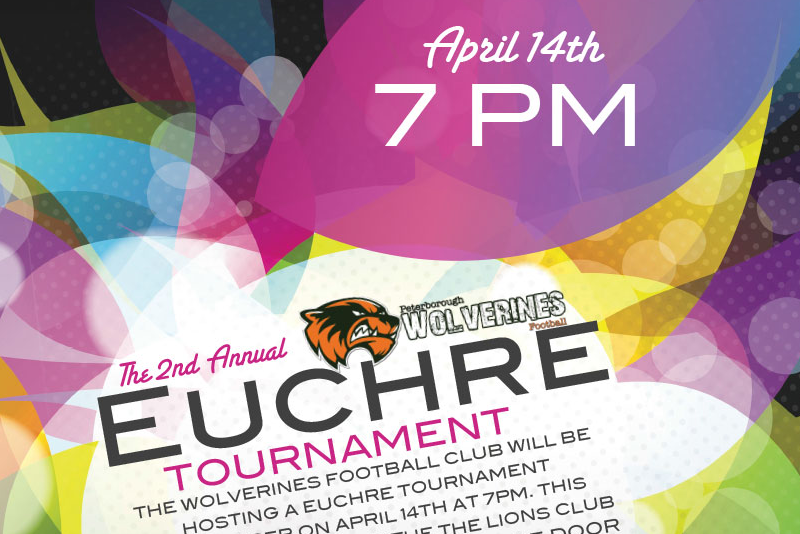 2018 Wolverines Euchre Tournament | April 14